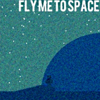 Fly Me To Space Blue Eyed Woman